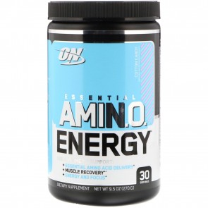 Optimum Nutrition Amino Energy with Green Tea and Green Coffee Extract Cotton Candy 9.5 oz