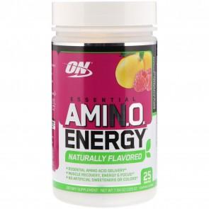 Optimum Nutrition AmiN.O. Energy Naturally Flavored Simply Raspberry Lemonade 25 Servings