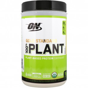Optimum Nutrition Gold Standard 100% Plant Vanilla 1.51 lb 19 Servings