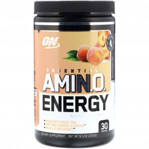 Optimum Nutrition Amino Energy White Peach Tea 9.5 oz