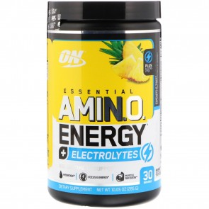 Optimum Nutrition Amino Energy Electrolytes Pineapple Twist 30 Servings (285 g)