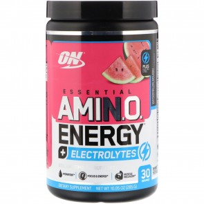Optimum Nutrition Amino Energy Electrolytes Watermelon Splash 30 Servings (285 g)