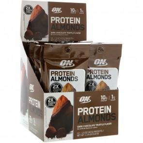 Optimum Nutrition Protein Almonds Dark Chocolate Truffle 12 Pack
