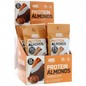 Optimum Nutrition Protein Almonds Cinnamon Roll 12 Pack