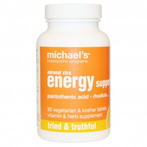 Michael's Naturopathic Adrenal Xtra Energy Support 90 Veggie Tabs