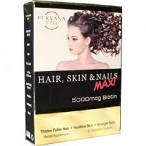 Wellgenix Purvana Max Hair, Skin & Nails 30 Capsules