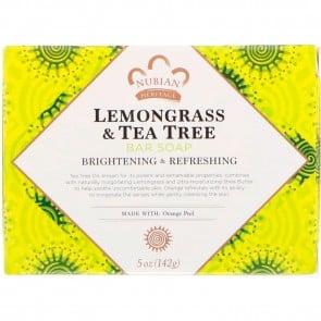 Nubian Heritage-Lemongrass&Tea Tree Soap 5oz