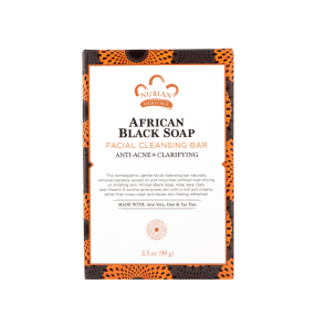 African Black Soap Facial Cleansing Bar Soap