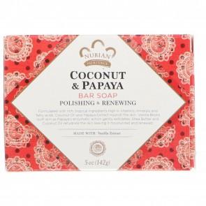 Nubian Heritage Coconut & Papaya Soap 5 oz