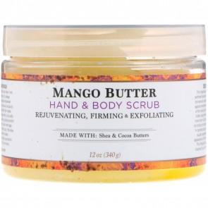 Nubian Heritage Mango Butter Hand & Body Scrub 12 oz