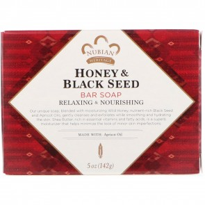Nubian Heritage-Honey Black Seed Soap 5oz