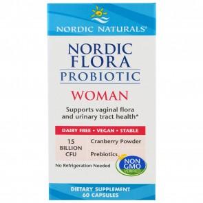 Nordic Naturals Nordic Flora Probiotic Woman