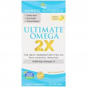 Nordic Naturals Ultimate Omega 2x 120 Capsules