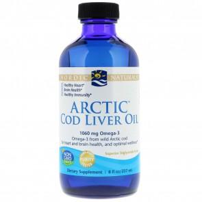 Nordic Naturals Arctic Cod Liver Oil Unflavored 8 fl oz