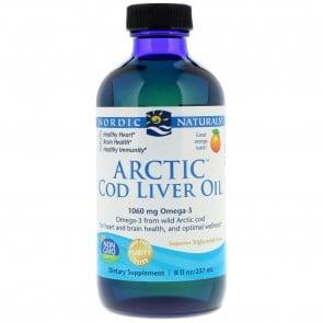 Nordic Naturals Arctic Cod Liver Oil Orange Flavored 8 fl oz