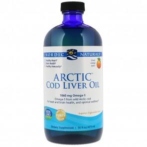 Nordic Naturals Arctic Cod Liver Oil Orange Flavored 16 fl oz