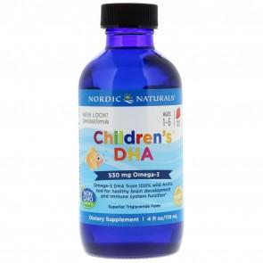 Nordic Naturals Children's DHA Strawberry 4 fl oz