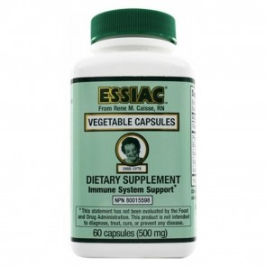 Vegetable Capsules 60 Capsules (500mg) by Essiac