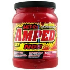 Amped ECN Fruit Punch by MetRX - with Amino Acid and Creatine to