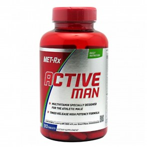 MET-Rx Active Man Daily Multivitamin 90 Tablets