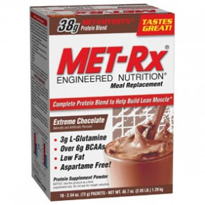 MET-Rx Meal Replacement Chocolate 18 Pack