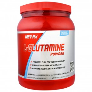 MET-Rx  L-Glutamine Powder 1000 Grams 2.2 lb