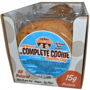 Lenny & Larry's The Complete Cookie Chocolate Chip 4 oz (113 g) Each