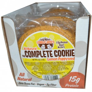 Lenny & Larry's The Complete Cookie Lemon Poppy Seed 4 oz (113 g) Each