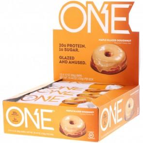 Oh Yeah! One Bar Maple Glazed Dughnut 12 Bars 2.12 oz