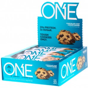 OhYeah! One Chocolate Chip Cookie Dough (12Bars)