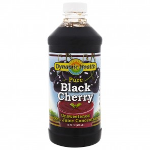 Dynamic Health Laboratories, Black Cherry Juice Concentrate, 100% Pure, 16 fl oz (473 ml)