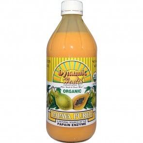 Dynamic Health Papaya Puree Natural 16 oz.