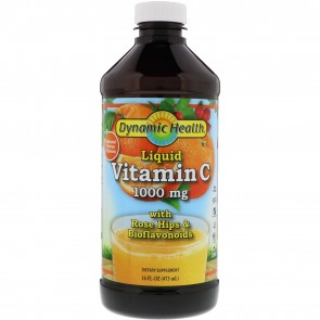 Dynamic Health Liquid Vitamin C Natural Citrus 1000 mg 16 fl oz
