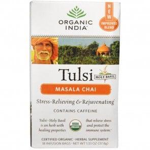 Organic India Tulsi Tea Chai Masala 18 Bags