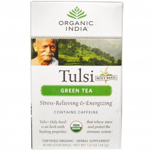 Organic India Tulsi Tea Green Tea 18 bags