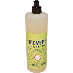 Mrs. Meyer's Clean Day Liquid Dish Soap, Lemon Verbena Scent - 16 oz bottle