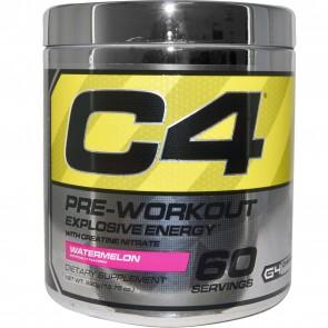 Cellucor C4 Pre-Workout Explosive Energy Watermelon 60 Servings 13.75 oz (390 g)