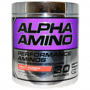 Cellucor Alpha Amino Performance Aminos Fruit Punch 30 Servings