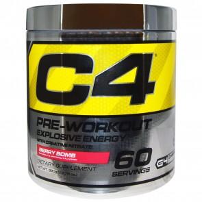 Cellucor C4 Pre-Workout Explosive Energy Berry Bomb 60 Servings 13.75 oz