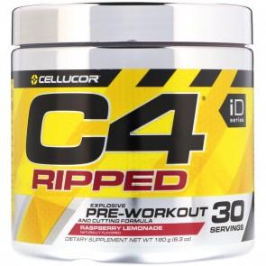 Cellucor C4 Ripped Pre-workout Cutting Formula Raspberry Lemonade 30 Servings 8.34 oz
