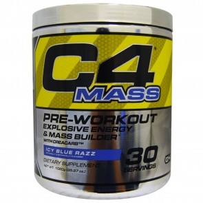 Cellucor C4 Mass Icy Blue Razz 30 Servings