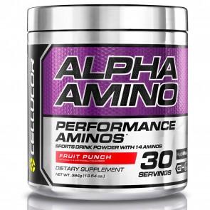 Cellucor Alpha Amino Performance BCAA's Fruit Punch 13.54 oz (384 g)