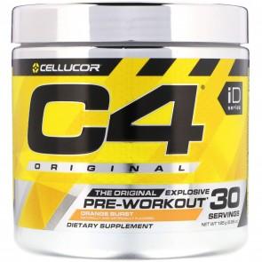 Cellucor C4 Original ID Series Orange Burst 30 Servings 180 Grams