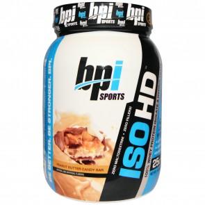 BPI Iso-HD Peanut Butter Candy Bar 1.6 lbs