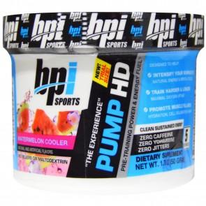 BPI Sports Pump HD Watermelon Cooler 5 Servings 1.76 oz