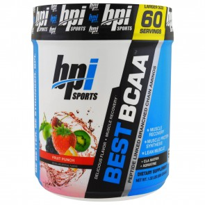 BPI Sports Best BCAA Fruit Punch 60 Servings