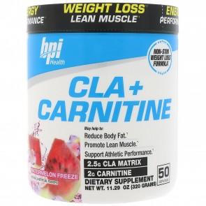 BPI Health CLA + Carnitine Watermelon Freeze 300 Grams (50 Servings)