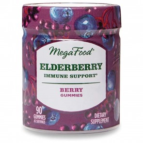 MegaFood Elderberry Immune Support Berry 90 Gummies