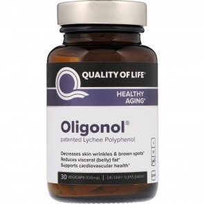 Quality Of Life Labs  Oligonol 100 mg 30 Vegetarian Capsules