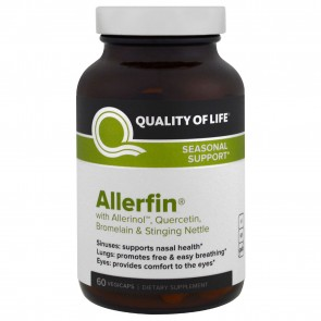 Quality of Life Allerfin 60 Vegicaps